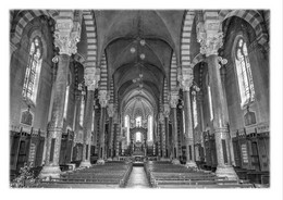 SAINT-HEAND - Intérieur De L'église Saint-Médard - Otros Municipios
