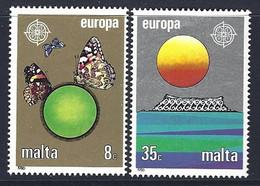 Malta Yv 727/8   -Europa 1986- Protection De La Nature ** - Milieubescherming & Klimaat