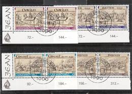 Luxembourg: Timbres Bienfaisance 1999 Oblitérés, 2 Séries - Usados