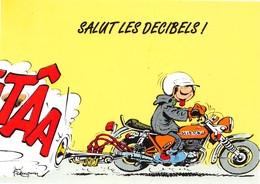 André FRANQUIN - Gaston LAGAFFE - Editions Dalix N'42 - Moto - Trompette - Stripverhalen