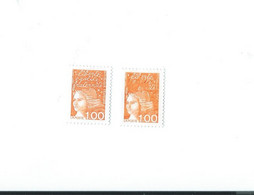 3089 D Texte Supérieur En Partie Effacé - 1 Normal Livré GRANDE RARETE - Curiosidades: 1990-99  Nuevos