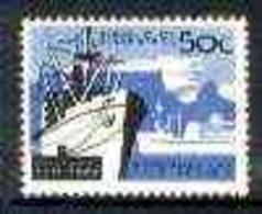 South Africa 1963 Cape Town Harbour 50c (wmk RSA) U/M, SG 235 - Neufs