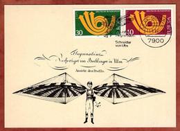 Beleg, Karte, Europa, MS Schneider Von Ulm 1986 (2410) - Covers & Documents