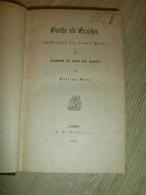 Goethe Als Erzieher , 1864, Franz Weinkauff Sammlung , Mit Autograph , Bad Kreuznach !! - Autographed