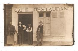 Carte Photo Originale 36 VATAN Café, Restaurant, Coiffeur Roger-Godard 2 Rue Du Grand Gué - Autres Communes