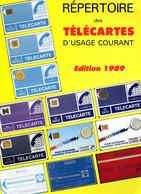 Repertoire Des Télécartes D'usage Courant - édition De 1989 - 12 Pages - Books & CDs