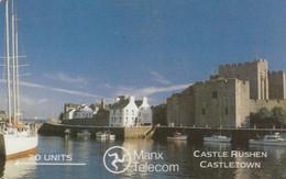 Isle Of Man, MAN 020, Castle Rushen, 2 Scans - Isla De Man