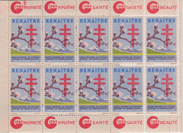 Lot De 8 Carnets De 1945-57-58-59-61-62-64-78  - Tuberculose - Antituberculeux - - Tegen Tuberculose