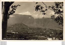 ESPAGNE TENERIFE  Valle Orotava Con El Pico De Teide  ..... - Tenerife