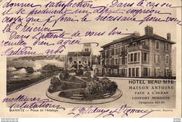 D64   BIARRITZ    Place De L'Attalaye  ..... ( Hôtel Beau Site - Maison Antoine ) - Biarritz