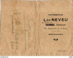 ARCACHON  POCHETTE LEO NEVEU - Sonstige