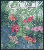 Maldives 2003 Orchids  Orchidées Strelitzia ReginaeMNH - Otros