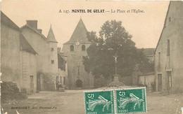63 , MONTEL DE GELAT , Place De L'église , * 358 72 - Other Municipalities