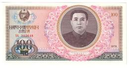 KOREA NORTH100WON1978P22UNC.CV. - Korea, North