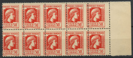 Algerie (1944) N 211 (Luxe) Piquage A Cheval - Unclassified