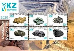 Kazakhstan  2020  Minerals Of Kazakhstan  S/S  MNH - Minerals