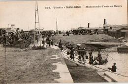 TONKIN - Nam-Dinh - Marchands D'eau Au Fleuve - Vietnam