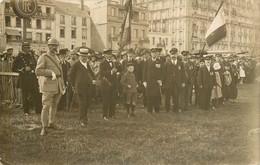DIEPPE Revue Sur La Plage De Dieppe Le 14 Juillet 1920 - CARTE PHOTO - Dieppe