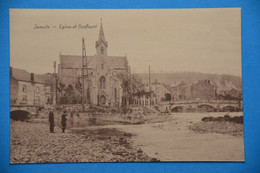 Jemelle Près De Rochefort : Eglise Et Confluent Animée - Rochefort