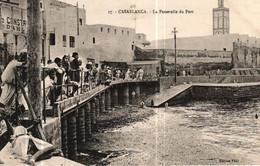 MAROC - CASABLANCA - La Passerelle Du Port - Casablanca