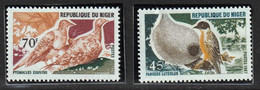NIGER - Faune, Oiseaux - Y&T N° 211-215 - MNH - 1967 - Niger (1960-...)