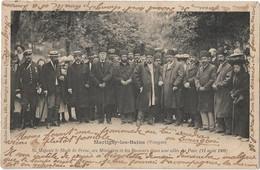 MARTIGNY Les BAINS --Sa Majesté Le Shah De Perse , Ses Ministres Et Les Buveurs ... - Sonstige Gemeinden
