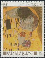"France 2002 Yv. N°3461 - ""Le Baiser"" De Gustave Klimt - Oblitéré - Gebraucht"