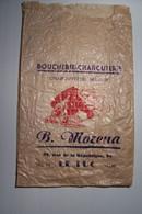 LE LUC ( Var )  - BOUCHERIE - CHARCUTERIE - B.  MORENA    - 58 , Rue De La République ( Pas De Reflet Sur L'original ) - Automovilismo