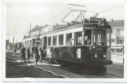 Voorschoten Blauwe Tram Leiden Den Haag Tramway Strassenbahn Trolley NZH 1960's - Sonstige