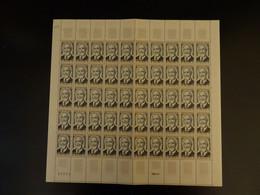 France Paul Dukas N° 1444 Feuille Entière De 50 Timbres Neufs - Fogli Completi