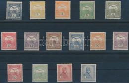 **, * 1908 Turul Sor 1. Vízjelállás: Csak 4 érték: 12f, 25f, 30f, 50f Falcos, A Többi Kifogástalan Postatiszta (280.000) - Unclassified