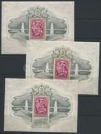 ** 1949 3 Db Lánchíd III. Blokk, átlag Minőség (270.000) - Unclassified
