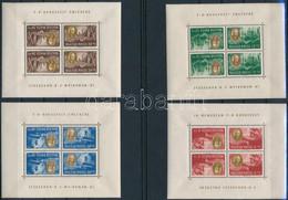 ** 1947 Roosevelt Kisívsor, 8 Db Kisív Fordított Képállással (150.000) - Unclassified