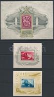 ** 1948-1949 Lánchíd I-II-III. Blokkok (150.000) - Unclassified