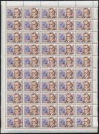 ** 1953 Zeneszerzők 2Ft 50-es Teljes ív Fekvő Vízjellel (150.000++) - Unclassified