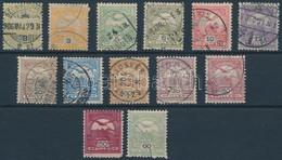 """O 1904 Turul 13 Klf. Bélyeg """"b"""" Számvízjelállás (91.000) - Unclassified"""