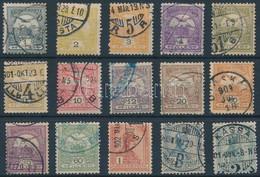 O 1900 15 Db Turul Bélyeg 4. Vízjelállás (75.000) - Unclassified