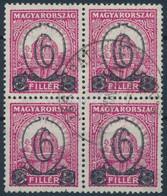 O 1931 Kisegítő 506B Négyestömb (60.000++) - Unclassified