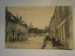 Courson Quartier Du Bureau Des PTT,Yonne 89,pas Commun,écrite Environ 1910,très Bel état,,envoi En Lettre économique 0,9 - Courson-les-Carrières