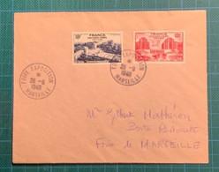 N°818-819 Cad Foire Expo.Marseille (Bouches Du Rhône) - Unclassified