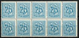 België 1368P2 ** - Bijgewerkte Kader Links - Cadre à Gauche Rectifiée - Oddities