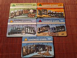 Landis & Gyr 5 Phonecards 310 A+B+C+D +E (MINT,NEW) RARE - [3] Magnetic Cards