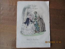JOURNAL DES DEMOISELLES MODES DE PARIS 15 OCTOBRE 1848 BARREAU - Other