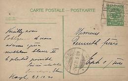 Luxembourg - Luxemburg - Carte Postale - Postkarte  1921 - Cachet  Rodange-Luxembourg - Stamped Stationery