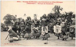 DAHOMEY - Groupes De Danseurs - Dahomey