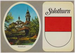CPM SUISSE Carte Adhésive Autocollant SOLOTHURN  Blason Ecusson - SO Solothurn