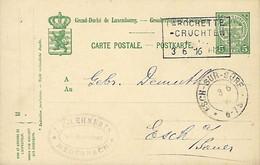 Luxembourg - Luxemburg - Carte Postale - Postkarte  1916 - Cachet  Larochette-Cruchten  -  2 Scans - Stamped Stationery