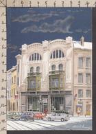 PW157/ Eric WILSENS, Artiste Belge, *Saint-Gilles, Carrefour Ma Campagne* - Schilderijen