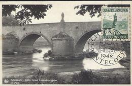 Luxembourg - Luxemburg - Maximkarte  -  1948 Echternach - Petite Suisse Luxembourgeoise - E.A.Schaack - Maximum Cards