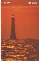 MAN-138 TARJETA DE LA ISLA DE MAN DE UN FARO (LIGHTHOUSE) - Isla De Man